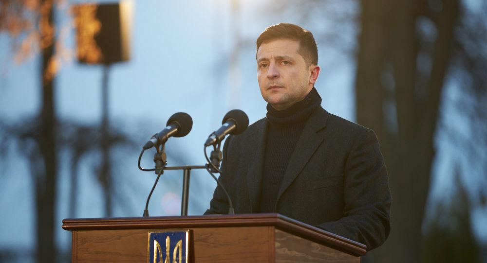 ولادیمیر زلنسکی رئیس جمهور اوکراین