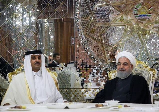 امیر قطر: کمکهای ایران فراموش نشدنی است