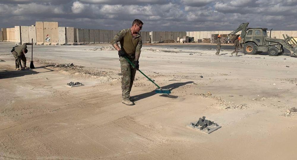 سقوط یک فروند هواپیمای  نظامی آمریکا در عراق