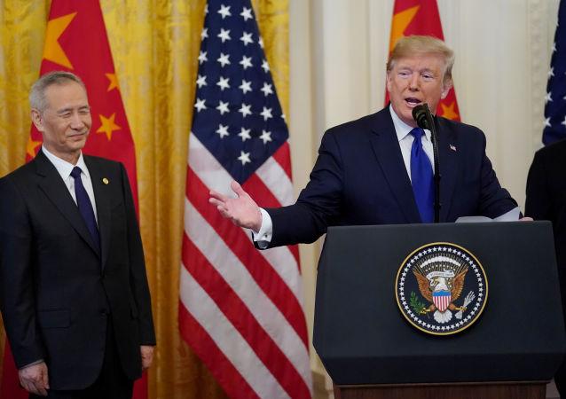 آمریکا و چین اولین اسناد توافق نامه تجاری را امضا کردند