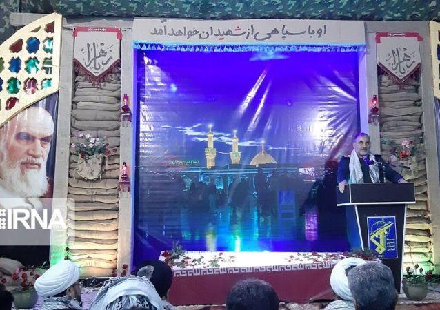 سردار حسن شاهوارپور فرمانده سپاه ولیعصرخوزستان