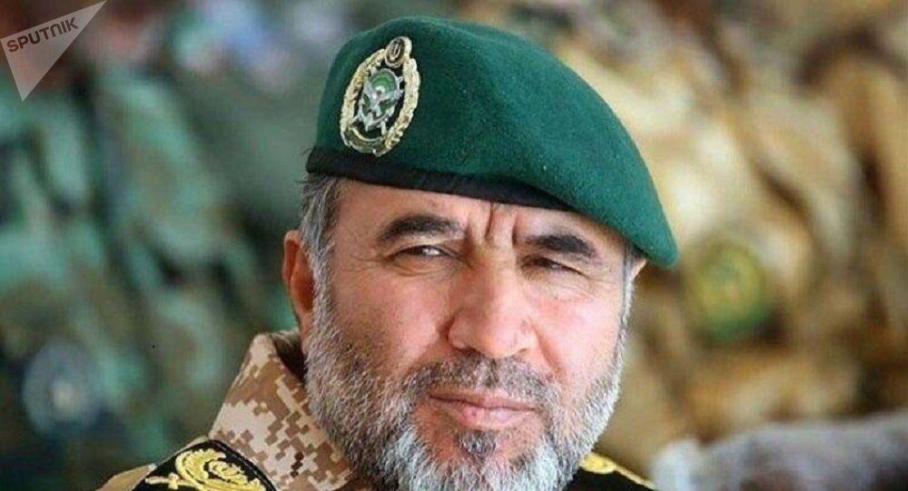 سرتیپ کیومرث حیدری ، فرمانده  نیروی زمینی ارتش ایران