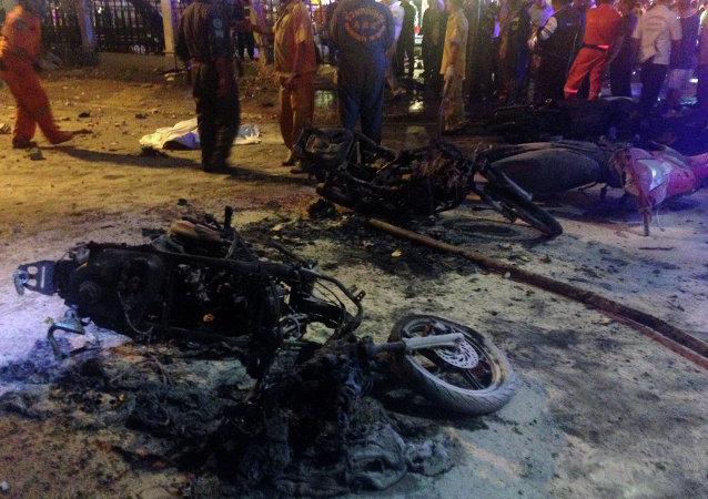 انفجار در بانکوک: 15 کشته و بیش از 80 زخمی