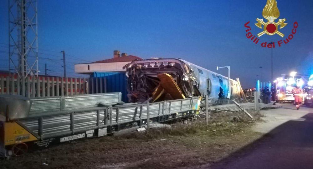 دو کشته در پی خروج قطار از ریل در ایتالیا