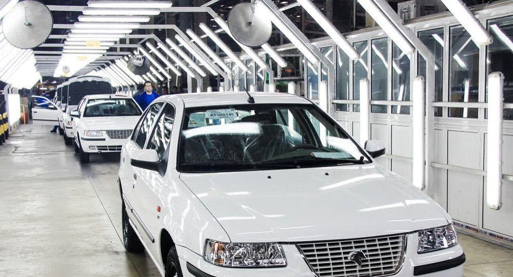 خودرو ایرانی سمند