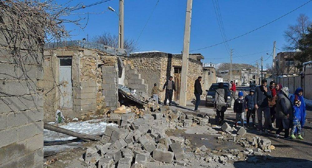 آخرین جزئیات منطقه زلزله زده در ایران