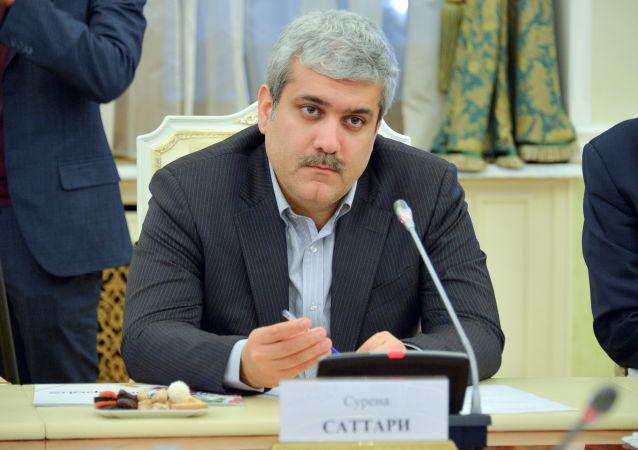 سفر معاون رئیس جمهور ایران به مسکو