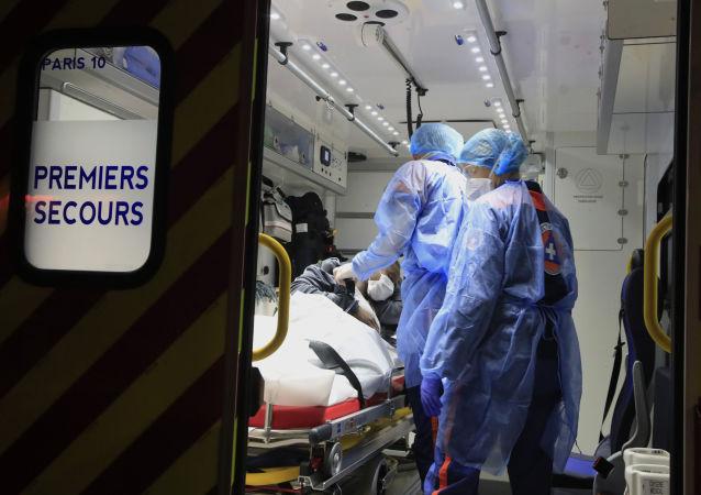 رکورد مبتلایان به کووید ۱۹ در فرانسه