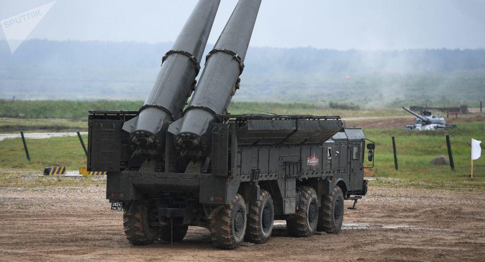انتشار ویدئوی پرتاب موشک توسط سامانه اسکندر