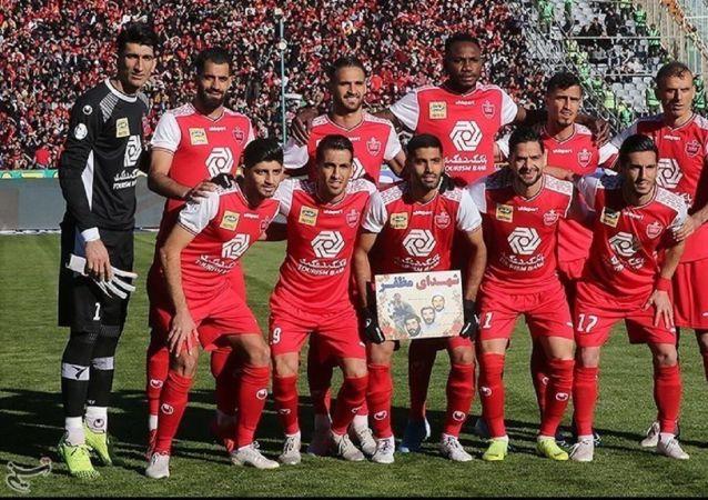 چهارمین قهرمانی متوالی پرسپولیس در لیگ برتر ایران