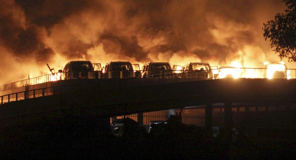 آتش سوزی در پتروشیمی بوعلی سینا ادامه دارد