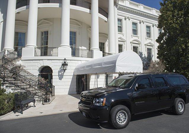 ترامپ پس یک مدت طولانی از کاخ سفید خارج می شود