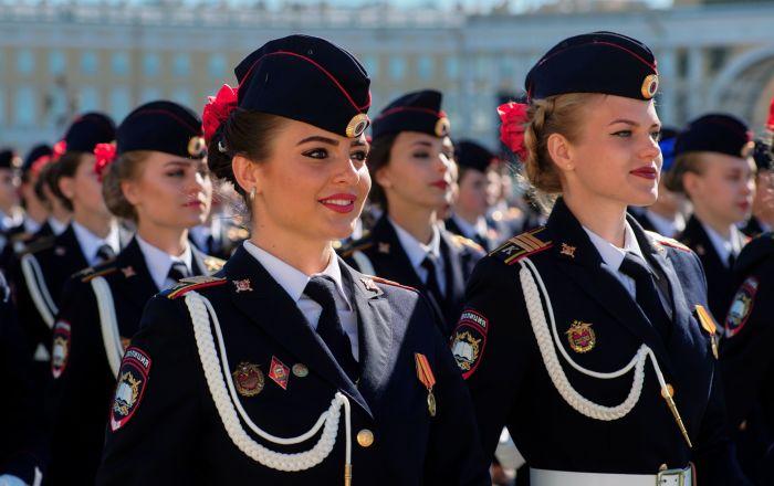 تمرینات رژه پیروزی در سن پترزبورگ