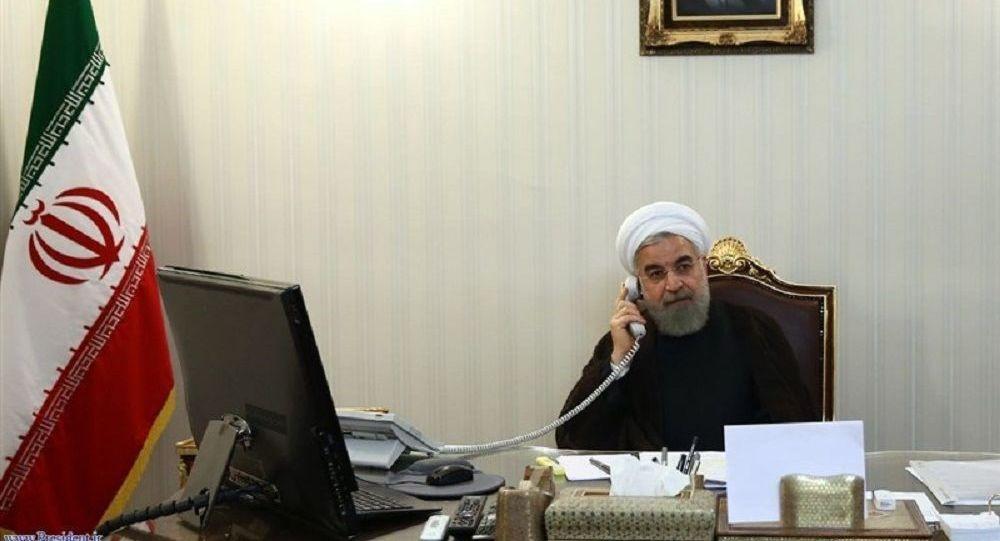 حسن روحانی، رئیس جمهور ایران.