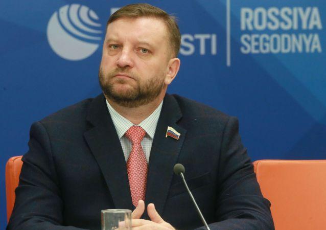 الکسی کندراویتف عضو کمیته بین المللی شورای فدراسیون روسیه