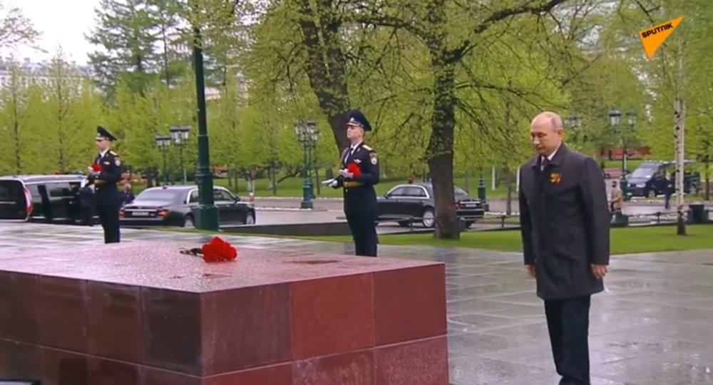 پوتین: روسیه یاد و حقیقت جنگ جهانی را حفظ خواهد کرد