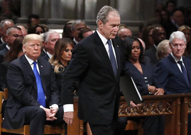 انتقاد ترامپ از جورج بوش