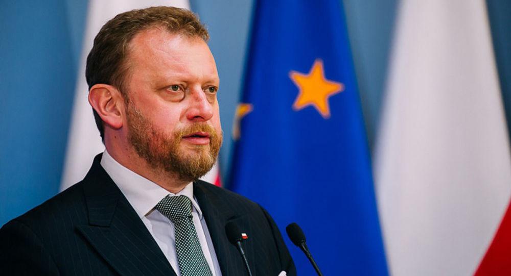 لوکاش شوموفسکی وزیر بهداشت لهستان