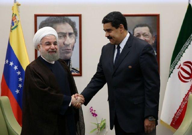 شاخ و شانه کشیدن ایران در حیاط خلوت آمریکا