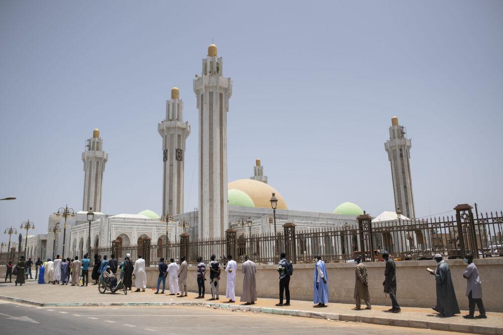 صف مسجدی در سنگال