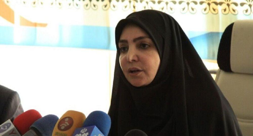 سیما سادات لاری سخنگوی وزارت بهداشت ایران