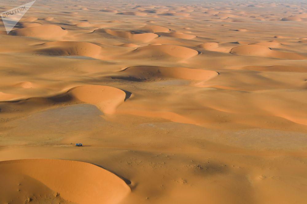 مسابقات خودرو رانی داکار ـ 2020 در بیابان های عربستان سعودی