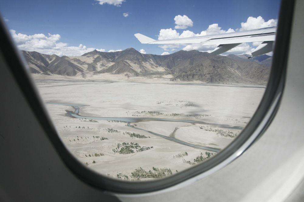 کویرهای شنی در تبت