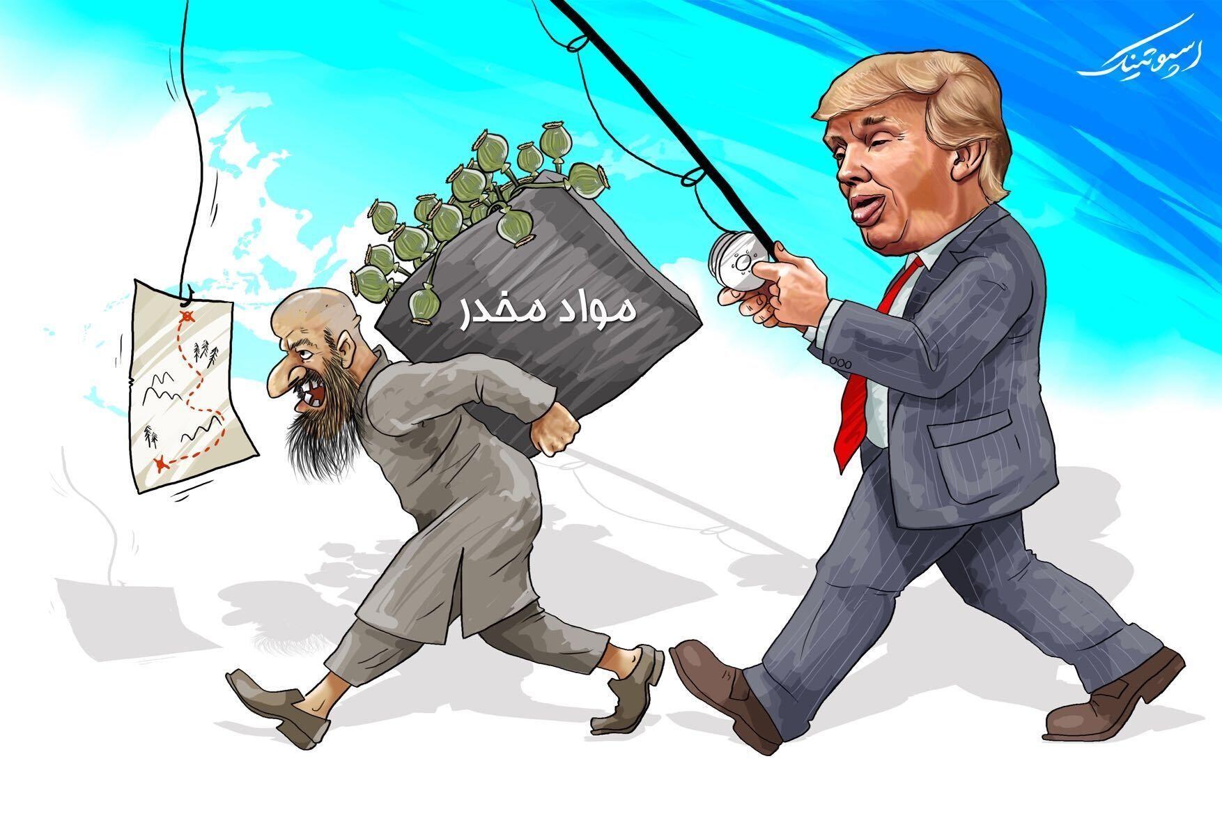 کابلوف: آمریکا در قاچاق مواد مخدر افغانستان مشارکت دارد