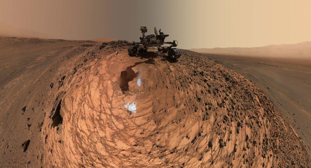 شواهدی از وجود غارهایی به طول دهها کیلومتر در مریخ و ماه