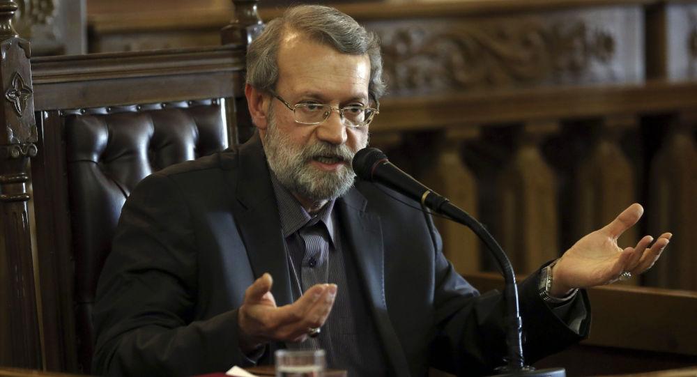لاریجانی: حادثه دریای عمان مکمل تحریمهای اقتصادی علیه ایران است