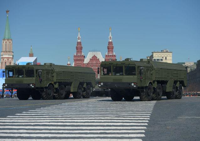 نمایش نابودی موشک « اسکندر» روسیه طوست ناتو (ویدیو)