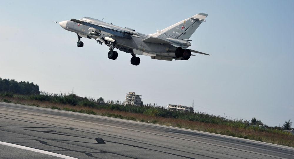 سرنگونی هواپیمای روسی سوخو24 در مرز ترکیه